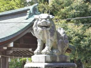 神門前狛犬