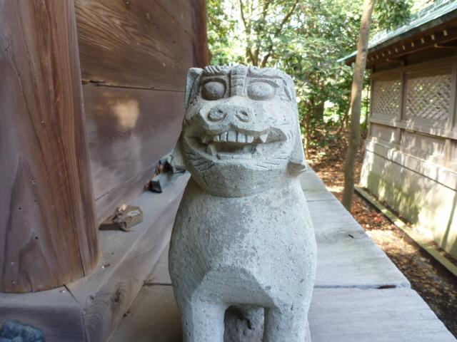西宮社の狛犬