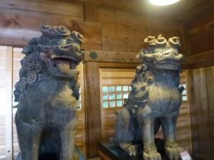 市文化財の狛犬