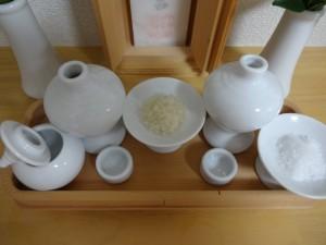 米・酒・塩・水